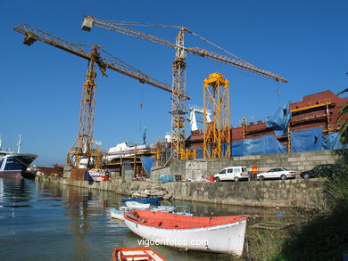 SHIPYARDS OF TEIS - VIGO - SPAIN