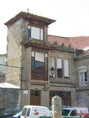 OLD PART OF BOUZAS AREA - VIGO - SPAIN