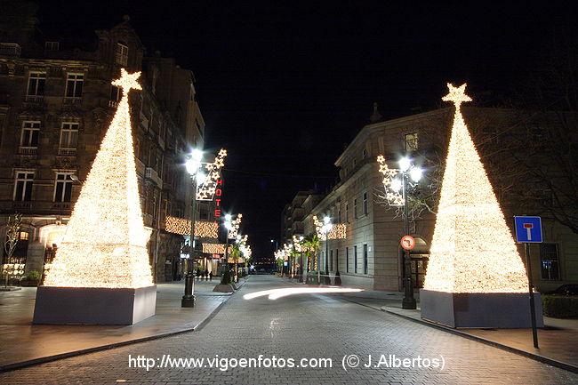 Vigo en Navidad