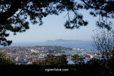 AERIAL VIEWS OF VIGO - SPAIN