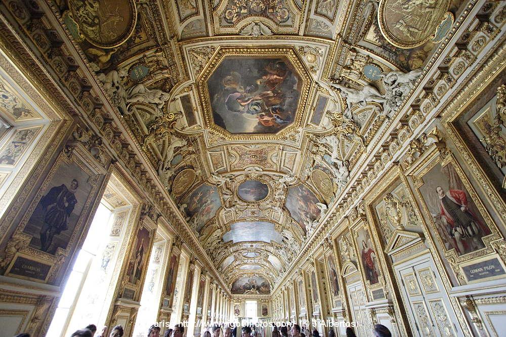 Fotos de museo louvre par s francia interiores for Le louvre interieur