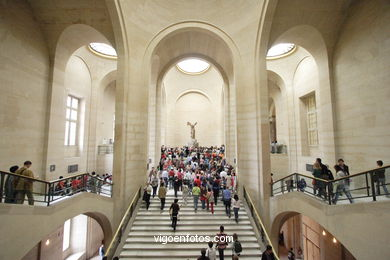 Louvre Museum Galleries