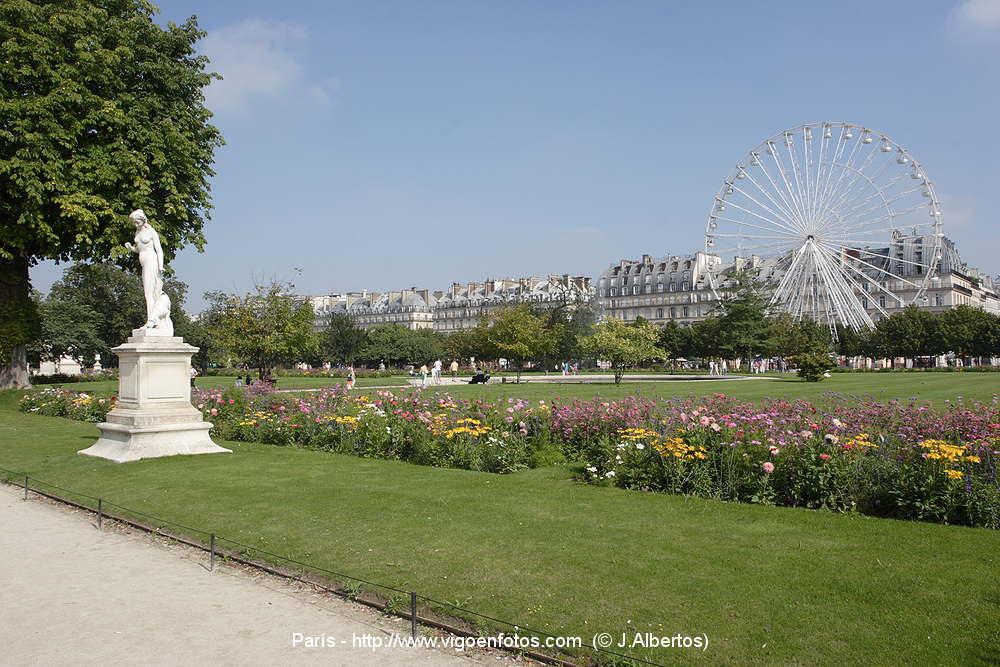 FOTOS VON JARDIN DES TUILERIES - PARIS, FRANKREICH - JARDIN DU ...