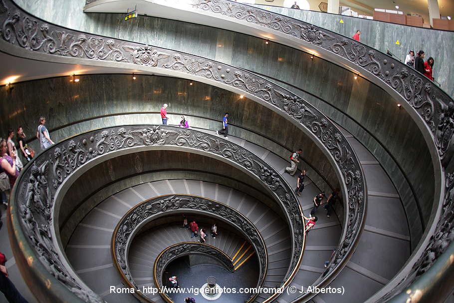 Escalera espiral del vaticano giuseppe momo escaleras de - Escalera en espiral ...