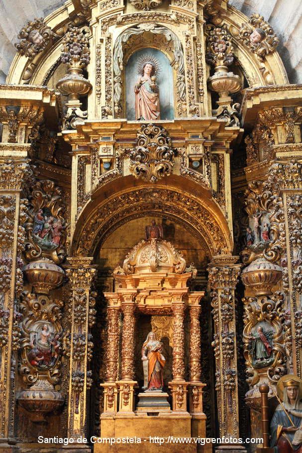 Fotos de interior de la catedral de santiago de compostela - Interior santiago de compostela ...