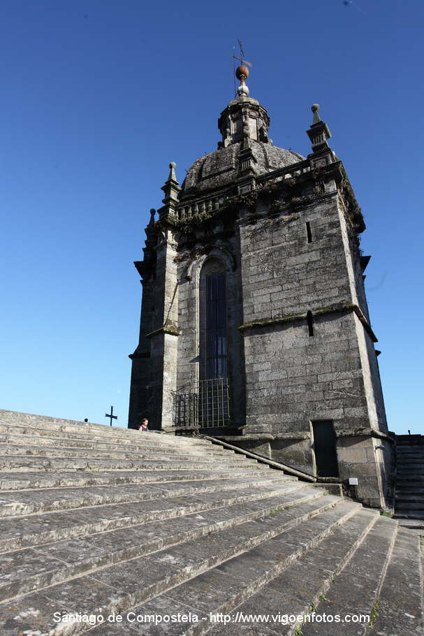 fotos de tejados y cubiertas catedral de santiago de