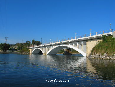 New bridge over the river Verdugo.