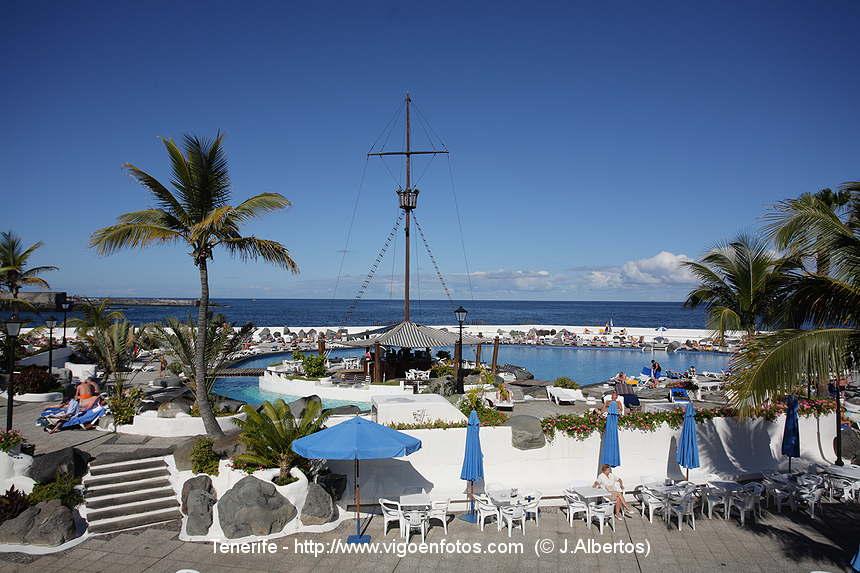 Fotos de lago marti nez puerto de lacruz tenerife islas for Piscinas martianez